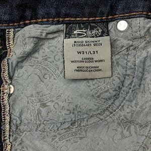 Women's Silver Jeans Aiko Skinny 31x31 @vintage